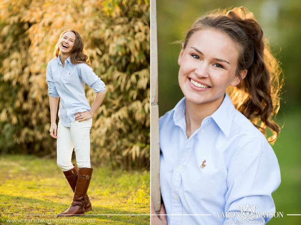 Spring Senior Portrait Photography
