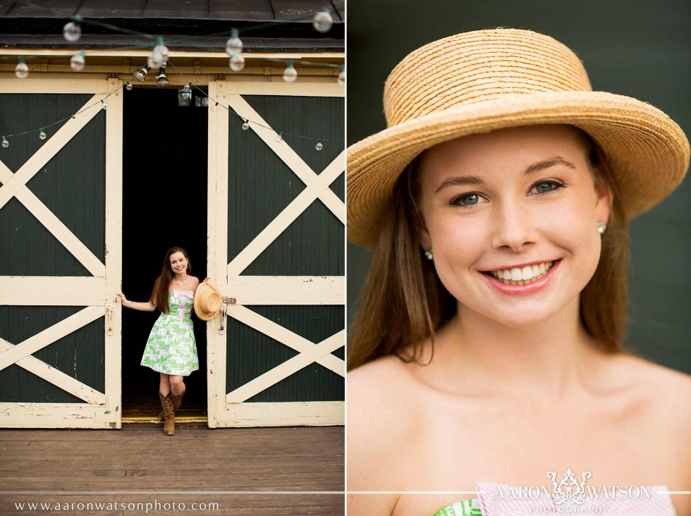 Verulam Farm Senior Portrait Session
