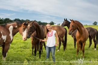 senior equestrian portraits
