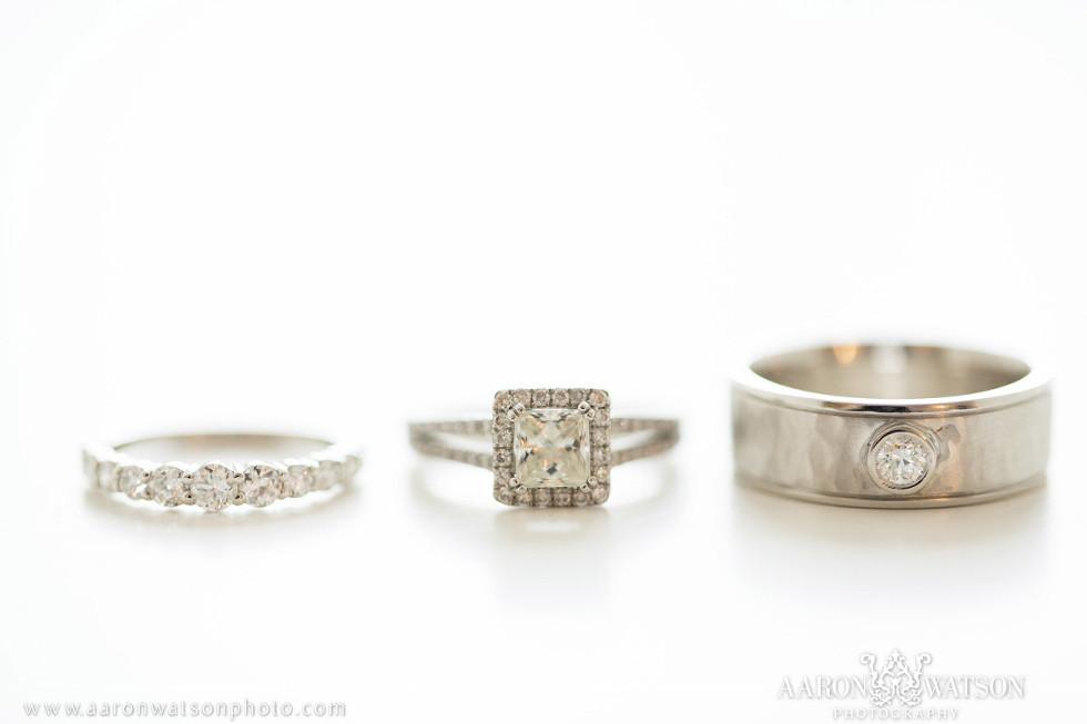 Catholic Wedding Ring 92 Marvelous square cushion cut diamond