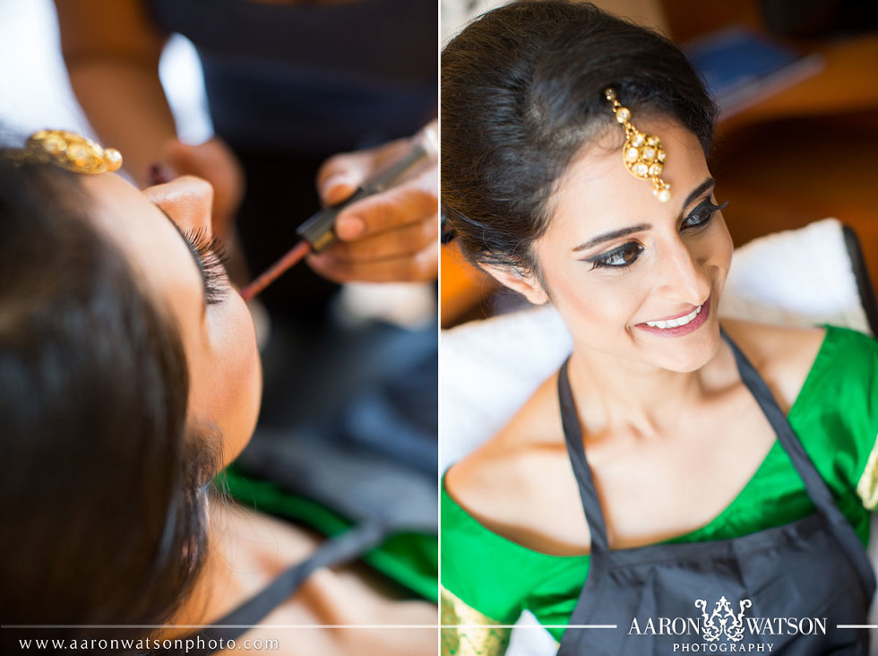 bridal makeup by the boutique by Sapna