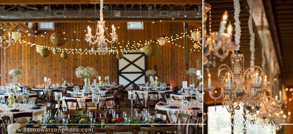 Castle Hill Cider Chandelier and Reception Ideas