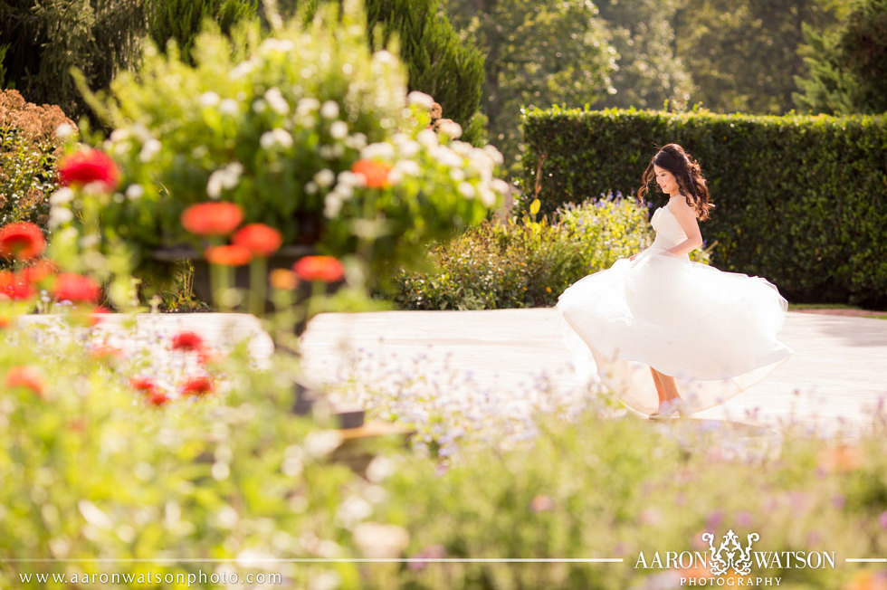 Keswick Hall Charlottesville Virginia Bride