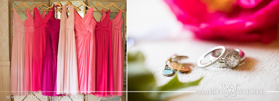 Bridesmaids Colors Pippin Hill Farm and Vineyard Wedding