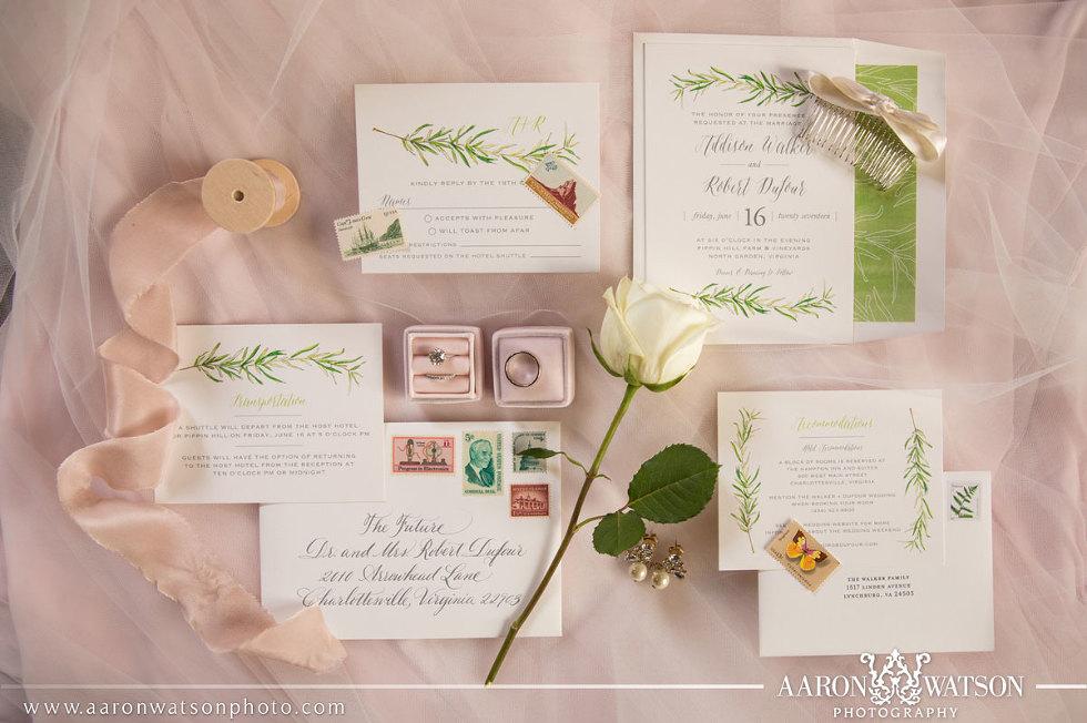 IfsoINKlined Wedding Invitation