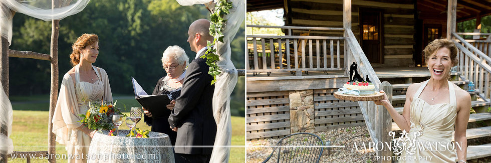 Small Wedding Elopement Venue Vineyard DelFosse Vineyard