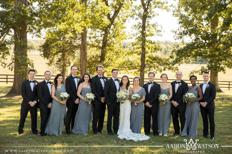 Wedding Party tuxedos fall weddings