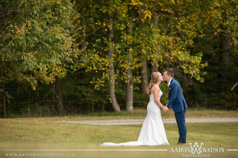 Outdoor Virginia Vineyard Wedding
