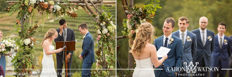 Charlottesville VA Wedding Arbor