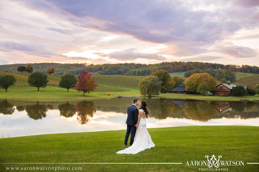 Trump Winery Pavilion Barn Wedding Photographers