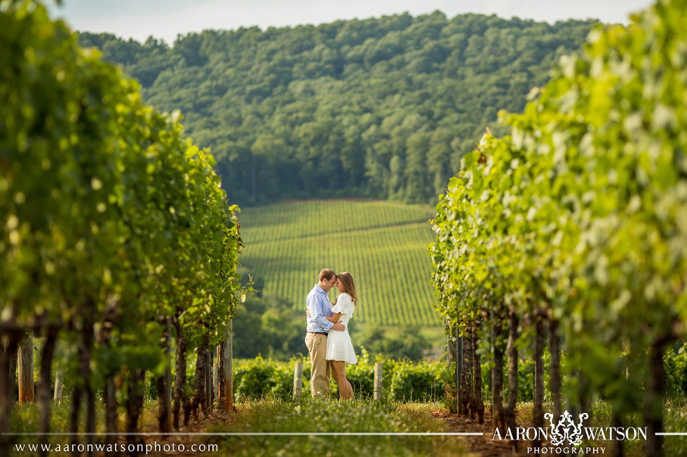 Best Engagement Pictures at Trump Winery